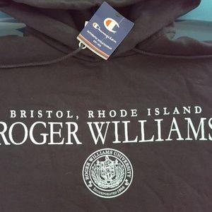 NEW Roger Williams University Hoodie